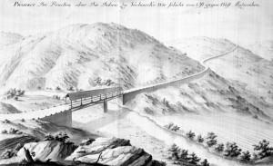 Karolinska cesta: Most preko rijeke Dobre kod Vrbovskog