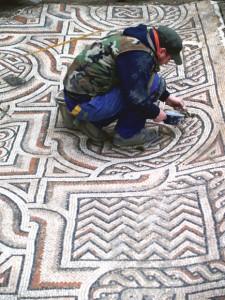 Podni mozaici Stari grad
