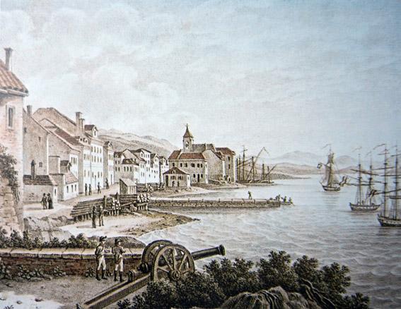 Francuska uprava u Rijeci 1809. godine