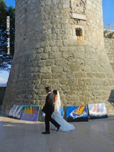 Frankopanski kaštel u gradu Krku