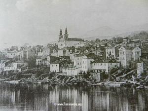 Volosko koncem 19. stoljeća