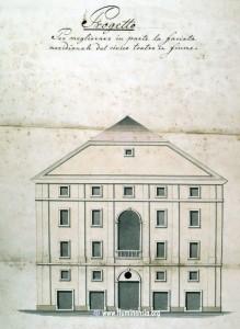 Nacrt Adamićevog kazališta