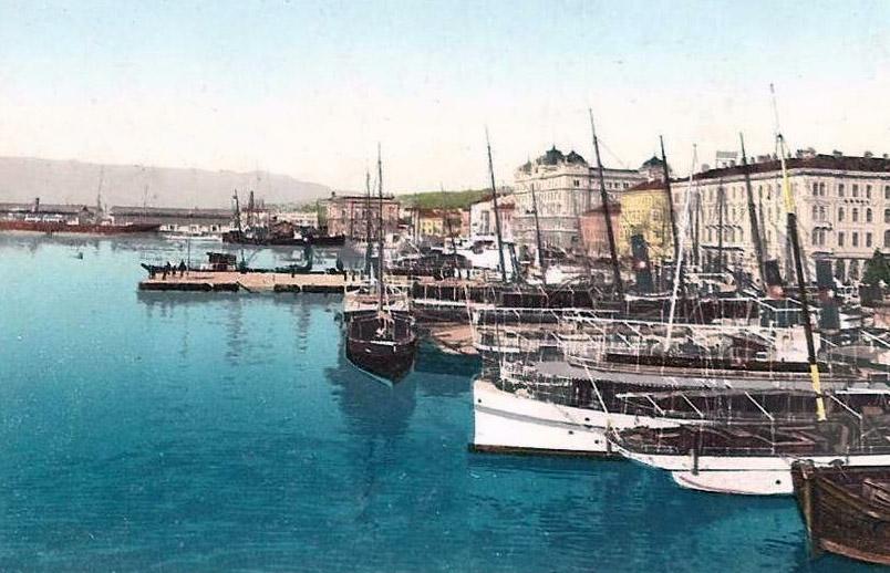 Riječka luka 1901. godine