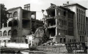 Stari grad 1945.