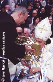 Fra Bonaventura Duda i kardinal Kuharić