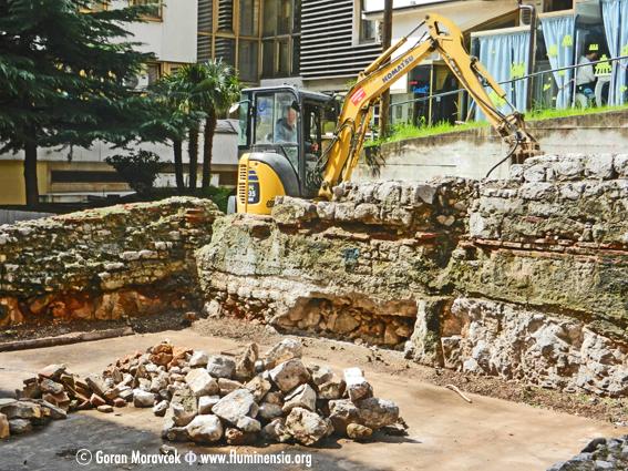 Početak radova na uređenju Arheološkog parka na mjestu rimskog Principija