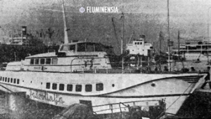 Hidrokrilac Vihor u riječkoj luci na fotografiji iz Novog lista