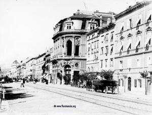 Rijeka 1919. godine. Palača Modello