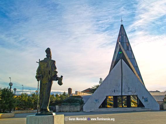 Riječka crkva sv. Nikole Tavelića na Turniću