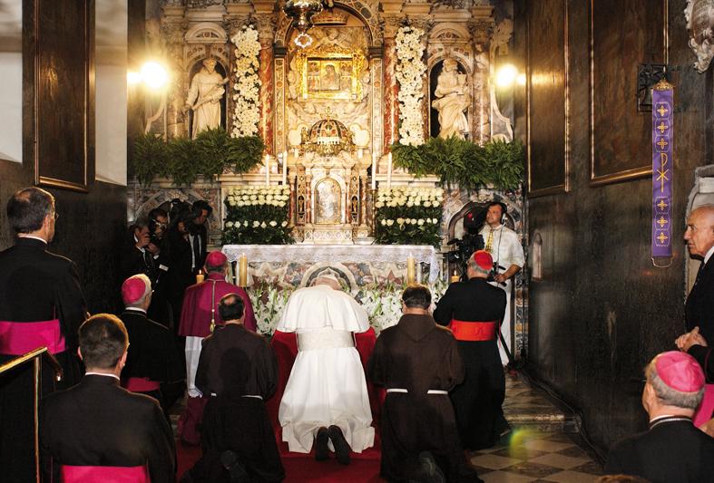 Papa Ivan Pavao II. u Svetištu Gospe Trsatske