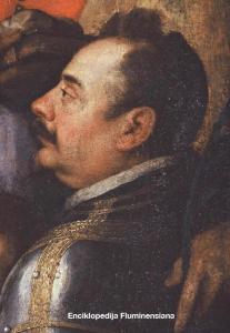 Giovanni Pietro Telesphoro de Pomis: Stefano della Rovere na oltarnoj slici u crkvi Gospe Trsatske
