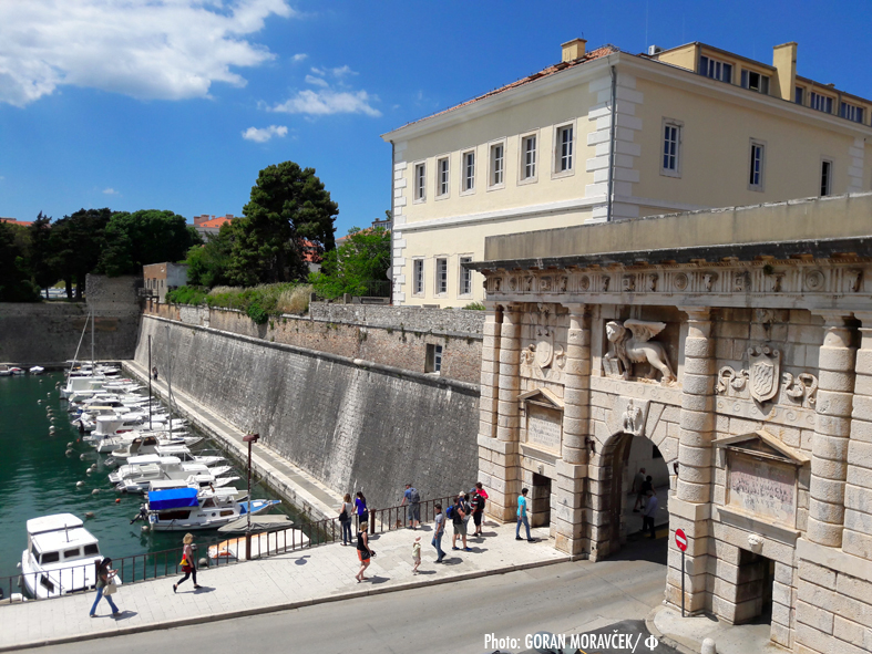 Zadar zidine i Kopnena vrata UNESCO