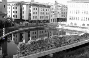 Riječki potok Lešnjak u Starom gradu