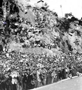 Utakmicu Rijeke i Hajduka pratilo je na Kantrida 9. rujna 1962. oko 5.000 gledatelja