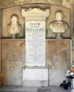 Obiteljska grobnica Scarpa na Kozali