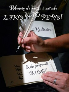 Blogiranje - lako kao pero
