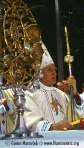 Kardinal Franjo Kuharić na Trsatu