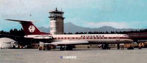 Zrakoplov Tupoljev 134 beogradskog Aviogenexa