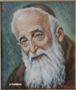 Sv. Leopold Mandić, portret u vlasništvu Maksimilijana Maksa Peča