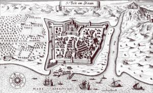 Grad sv. Vida sredinom 17. stoljeća