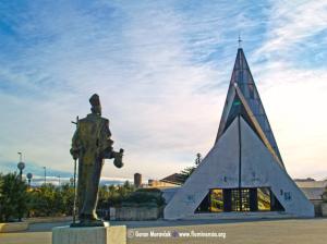 Riječka crkva sv. Nikole Tavelića na Turniću izgrađena je 1988. godine prema projektu akademika Borisa Magaša (1930-2013)