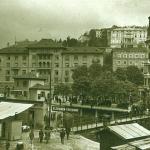 Pješački most nad Rječinom