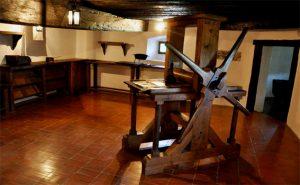 Bogenšperk: Valvasorova tiskarska preša