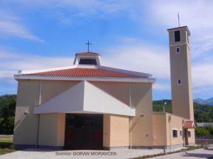 Crkva sv. Maksimilijana Kolbea u Podhumu posvećena je 13. kolovoza 2015. Kolbe je 1941. umro mučeničkom smrću u nacističkom logoru Auschwitz.